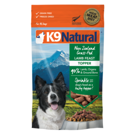 K9 natural Topper - Lamb Feast 5oz
