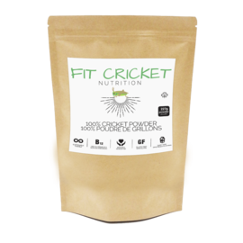 Fit Cricket Nutrition 100% Cricket Powder 227g