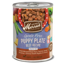 Merrick pet care Puppy Plate Beef 12.7oz