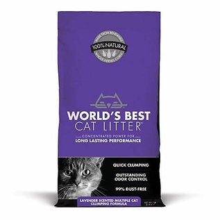 Worlds Best Scented Multipet Cat 28lb