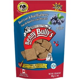 Benny Bully Benny Bullys Liver Plus Real Blueberry 58g
