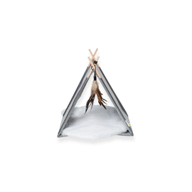 Be One Breed Felt Cat Tipi With Cushion