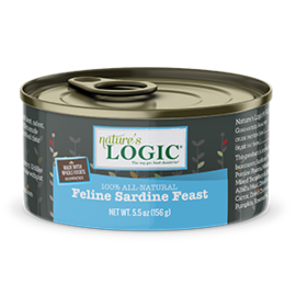 Natures Logic Sardine Feast 5.5oz