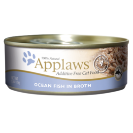 Applaws Ocean Fish In Broth 5.5oz