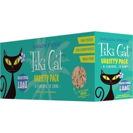 Tiki Cat Variety Pack Luau 12 x 8oz
