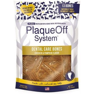 PlaqueOff PlaqueOff Dental Care Bones Chicken & Pumpkin