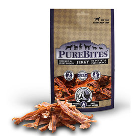 Purebites Chicken & Sweet Potato Jerky 375g