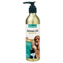 NaturVet Salmon Oil Dogs & Cats 8.75oz