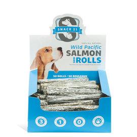 P21 Salmon Skin Rolls