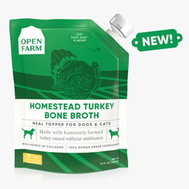 Open Farm Bone Broth Turkey 12oz