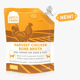 Open Farm Bone Broth Chicken 12oz