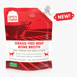 Open Farm Bone Broth Beef 12oz