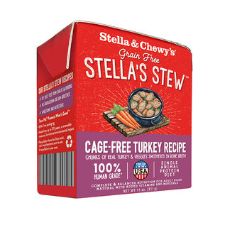 Stella & Chewy's Cage Free Turkey 11oz