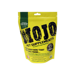 Mojo Pet Supplements Beef Liver Snaps Mojo