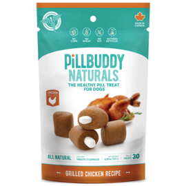 PRESIDIO Pill Buddy Naturals - Roasted Chicken 150g