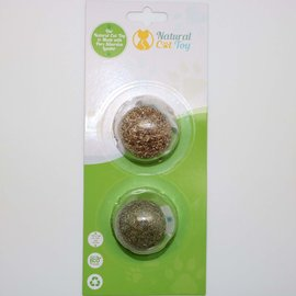 Natural Toys 4 Cats Catnip/Silver Vine Fitness Balls