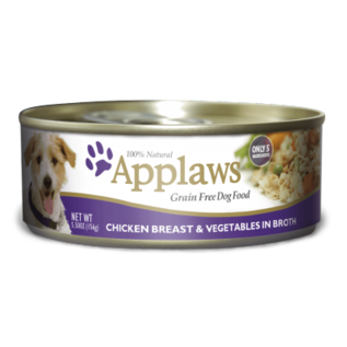 Applaws Chicken & Vegetables in Broth 5.5oz