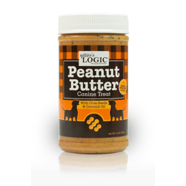 Natures Logic Peanut Butter 12oz (Dogs & Cats)