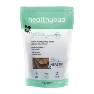 Healthybud Pure Beef Lung 50g