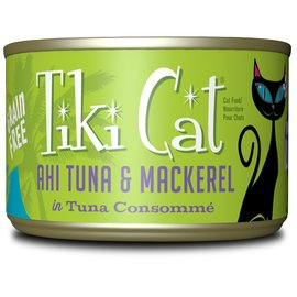 Tiki Cat Papeekeo Tuna & Mackerel 6oz