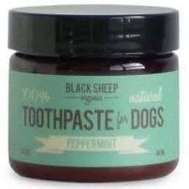 Black Sheep Peppermint Organic Toothpaste Deliciously Deodorizing 2oz