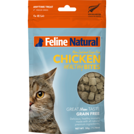 K9 natural Natural Chicken Healthy Bites 50g (Cat)