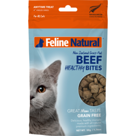 K9 natural Natural Beef Healthy Bites 50g (Cat)