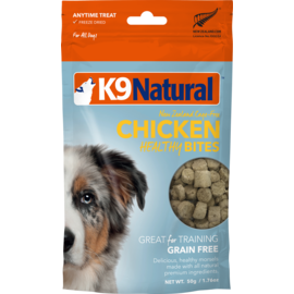 K9 natural Chicken Healthy Bites 50g