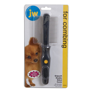 JW Pet Comb Double Sided