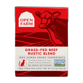 Open Farm Beef Rustic Blend 5.5oz