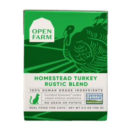 Open Farm Turkey Rustic Blend 5.5oz