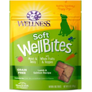 Wellness WellBites Lamb & Salmon 6oz