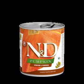 Farmina N&D Dog Venison, Pumpkin & Apple 10.5oz