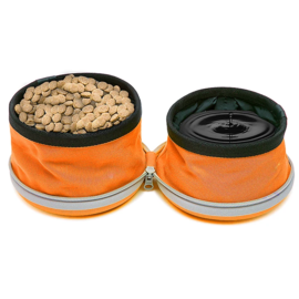 MUTTLUKS MutTravel 2 in 1 Bowl 750ml Orange