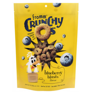 Fromm family Crunchy O's Blueberry Blast 26oz