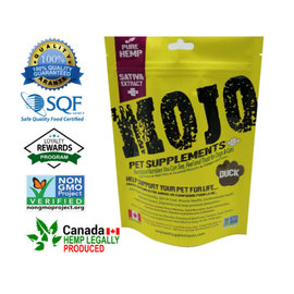 Mojo Pet Supplements Duck Treats Mojo 116g