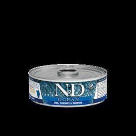Farmina N&D Cat Ocean Cod, Shrimp & Pumpkin Kitten 2.8oz