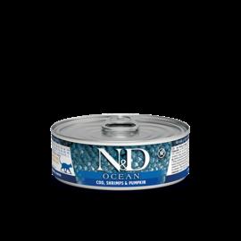 Farmina N&D Cat Ocean Cod, Shrimp & Pumpkin 2.8oz