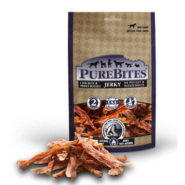 PUREBITES Purebites Chicken & Sweet Potato Jerky 77g