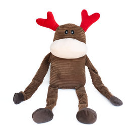 ZippyPaws Holiday Crinkle Reindeer XL