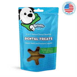 Bristly Pre Biotic Enzymatic Dental Treats Beef Flavour Bristly 475g
