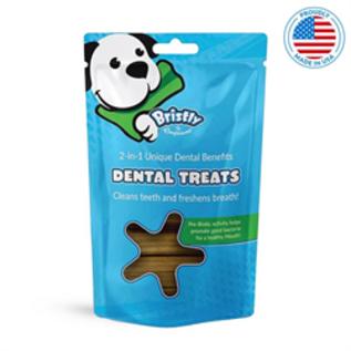 Bristly Pre Biotic Enzymatic Dental Treats Beef Flavour Bristly 475g