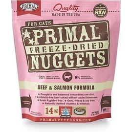 Primal Primal Freeze Dried Meal Beef & Salmon - Cats 5.5oz