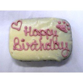 The Barkery Birthday Brownie Cake Pink