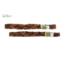 Nature's Own Braided Bully Chomp 12""