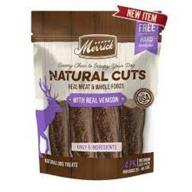 Merrick pet care Natural Cuts with Real Venison Medium (4 ct)