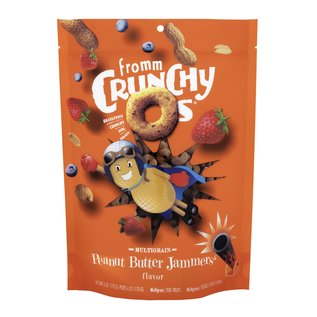 Fromm family Crunchy O's Peanut Butter Jammers 6oz
