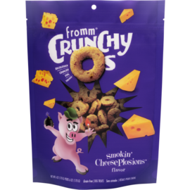 Fromm family Crunchy O's Smokin' CheesePlosions 26oz