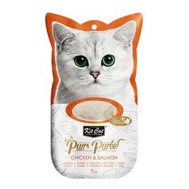 Kit Cat PurrPuree Chicken & Salmon