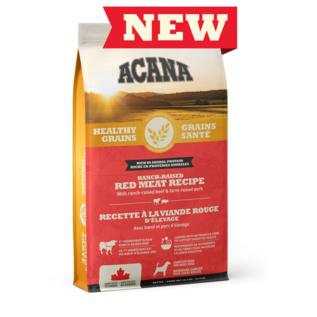Acana Red Meat Recipe Healthy Grains